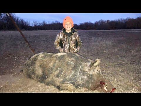 MASSIVE Wild Hog Catch, Clean, and Cook!