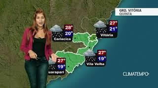 Previsão Grande Vitória - Alerta para muita chuva