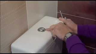 How to change a Geberit Flush Button and Valve