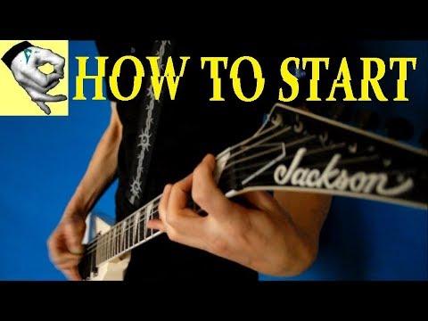 Hetfield Technique - How To Start