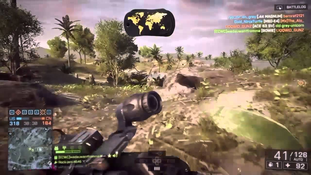BF4#230(PS4#180) ''FEAR'' NAVAL STRIKE MAPS    DISTURBED