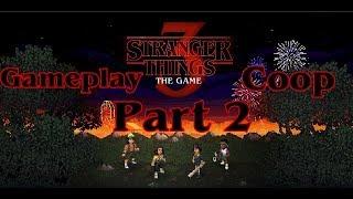 Stranger Things 3 The Game en duo coop l Part 2 l Balade en forêt et mission Shampoing