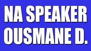 Ousmane Narcotics Anonymous Speaker