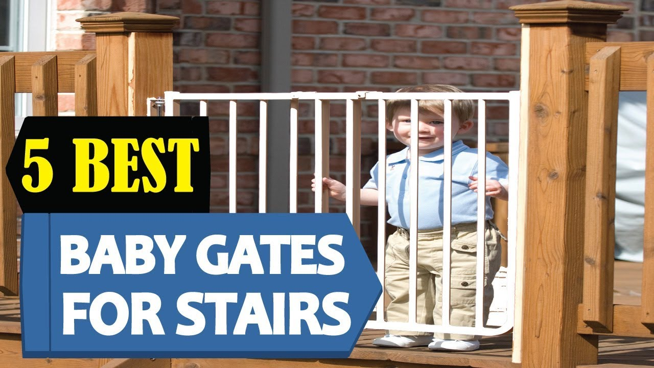 5 Best Baby Gates For Stairs 2018 Best Baby Gates For Stair