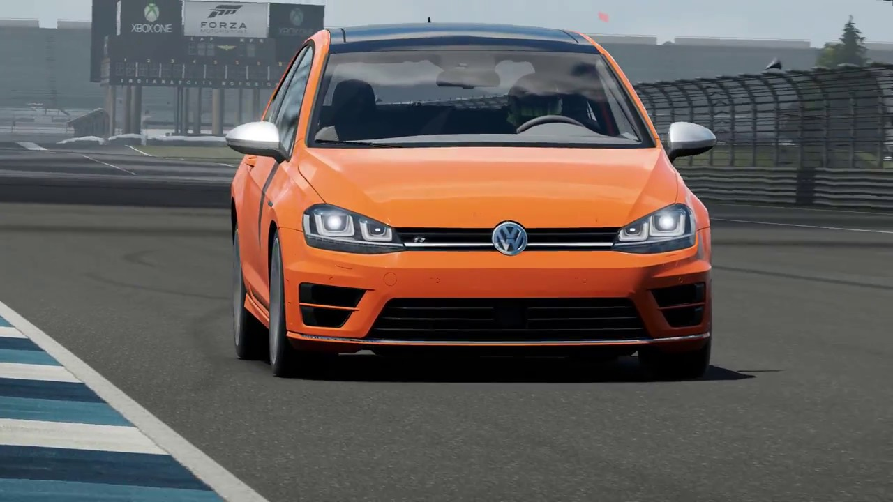 forza motorsport 7 volkswagen golf 7 r indianapolis. Black Bedroom Furniture Sets. Home Design Ideas