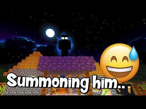 Do NOT Sleep While Playing The New Minecraft Update! (Summoning Boogeyman)