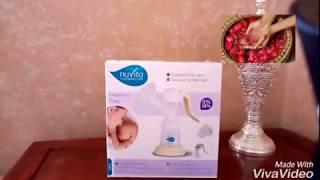 فيديو لكل الامهات ووالمقبلات على الولادة ...شفاطة الحليب من نوفيتا فائدة كبيرة ووسهولة في الاستعمال☺
