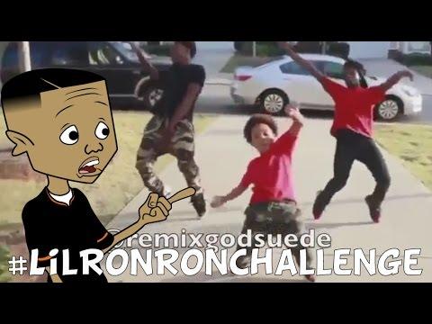 Lil Ron Ron Dance Challenge (Prod. By @RemixGodSuede) #LilRonRonChallenge