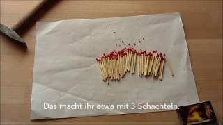 Rauchbombe aus Haushaltsmitteln herstellen/für Airsoftspiele/ohne Tischtennisbälle/ohne KNO3