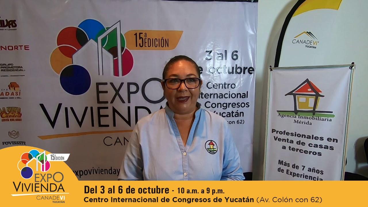 Agencia Inmobiliaria Mérida presente en Expovivienda Yucatán 2019