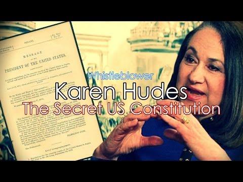 World Banker Karen Hudes Reveals Secret US Constitution