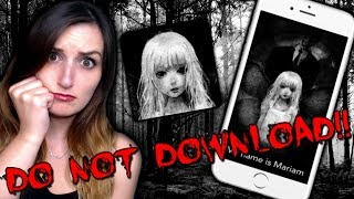 do not download this appits haunted mariam app