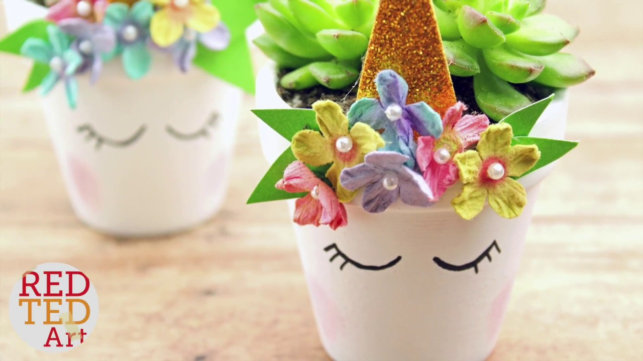 DIY Unicorn Planter - Easy DIY Unicorn Succulent Planter - DIY Gift Ideas BFF Motheru0027s Day Teachers!  sc 1 st  YouTube & DIY Unicorn Planter - Easy DIY Unicorn Succulent Planter - DIY Gift ...