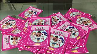 L.O.L Surprise Album Stickers Whole Box 50 Packets X 5 250 Stickers In Total