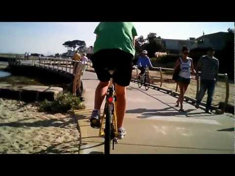 Melbourne Bay Trail - Good Friday 2012. Filmed with #11 808 H.264 Keychain camera