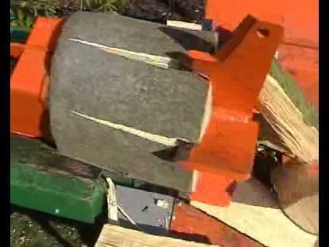 Posch splitmaster 9t holzspalter log splitter teil 2 youtube for Splitmaster