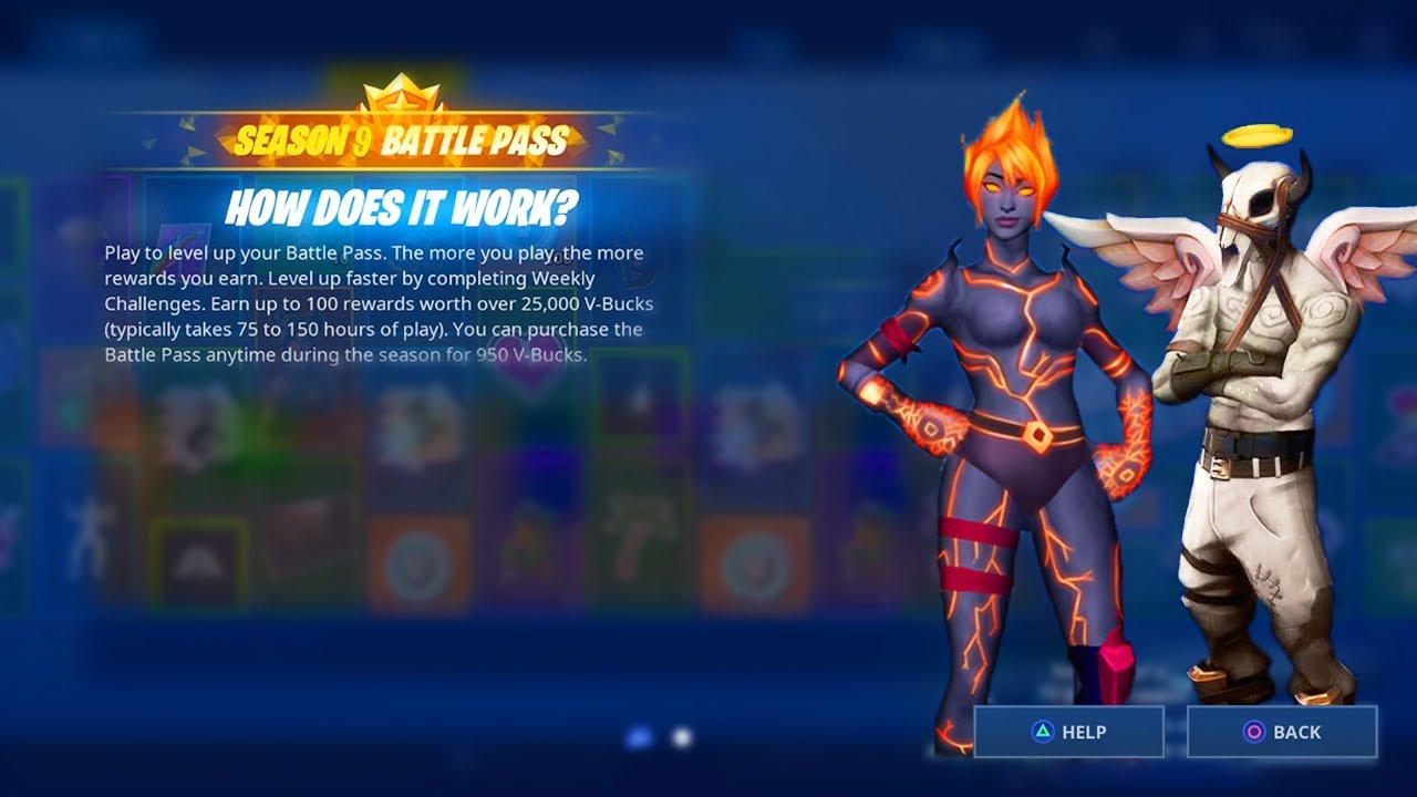 New Season 9 Battle Pass Leaked Season 9 Battle Pass Skins