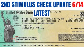 Will there be a second stimulus check? we're getting more good news and signs of round checks from people like secretary treasury and...