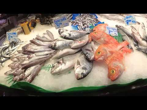 Barcelona Mercat de la Boqueria 11/2017 Walking arround Mark