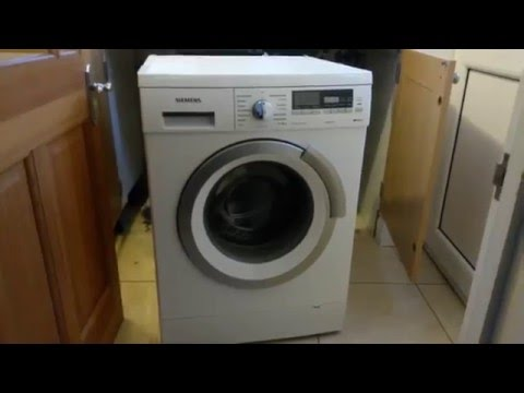 All The Possible Ways To Open The Washing Machine Door On A Siemens