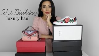 21ST LUXURY BIRTHDAY HAUL // GUCCI, FENDI, BALMAIN & MORE