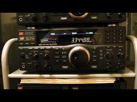 3345kHz Radio Repubblica Indonesia Ternate / JRC NRD-545
