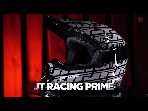 JT Racing PRIME MX Helmet