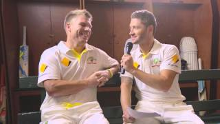 Talking travel with the Australian Cricket Team