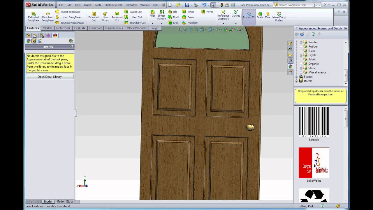 PhotoView Part Rendering Primer And Decals YouTube - Decal graphics software