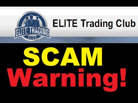 Elite Trading Club Betrug