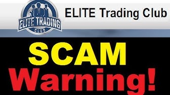 Elite Trading Club Review - Dangerous Trading SCAM Warning!