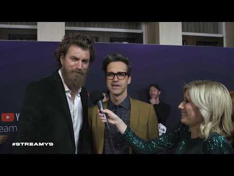 Rhett & Link Red Carpet Interview | Streamy Awards 2019