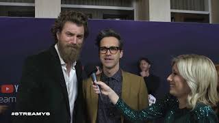 Rhett & Link Red Carpet Interview | Streamy Awards 2019