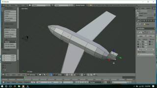 Tutorial Pesawat (Blender) - Part 1