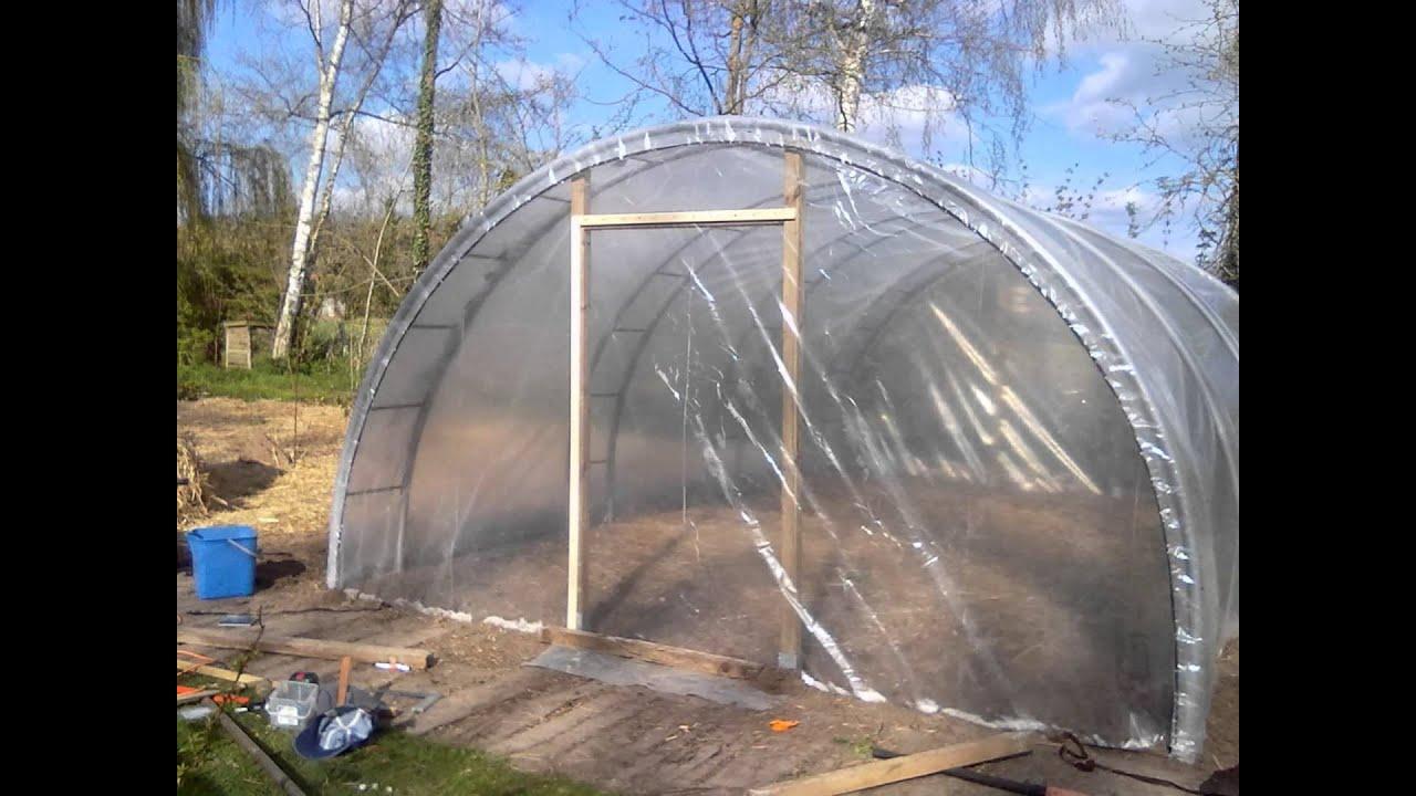 permaculture construction d une serre de 26 m2 pour 250