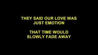I LOVE YOU MORE AND MORE EVERY DAY (KARAOKE)