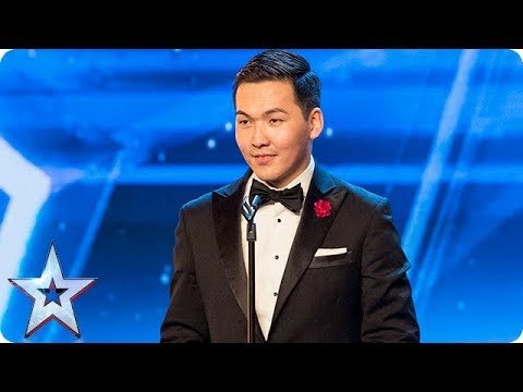 Meet Bat and his unique style of… throat singing! | Auditions | BGT 2018