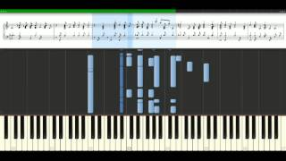 Elvis Presley - Merry christmas baby [Piano Tutorial] Synthesia