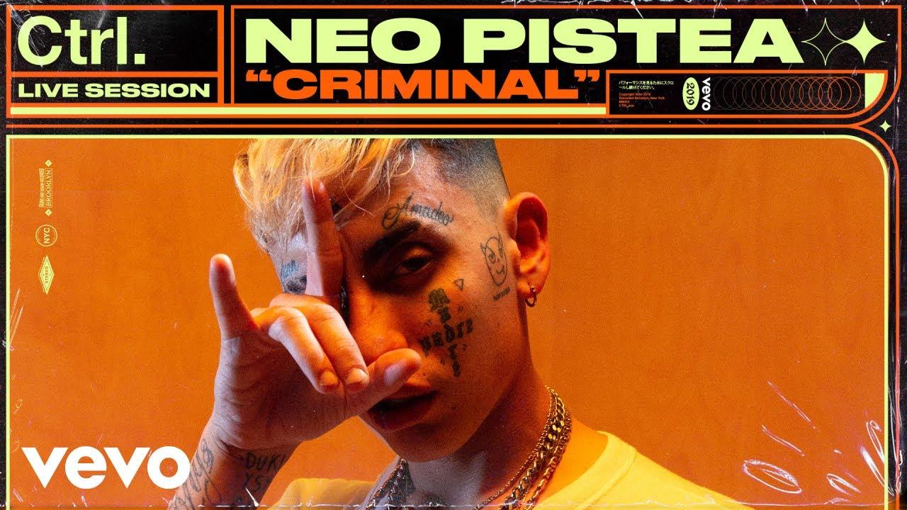 Neo Pistea - Criminal (Live Session) | Vevo Ctrl