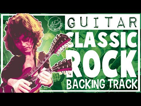 Led Zeppelin Style Classic Rock Backing Track In A Minor