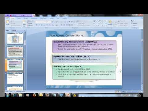 [Bài giảng MCITP-SA]-Bài 2: Introduction NTFS permission