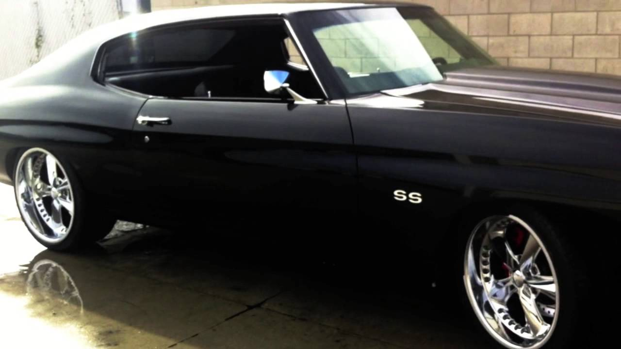 Chevelle Muscle Car Project 71\' - YouTube