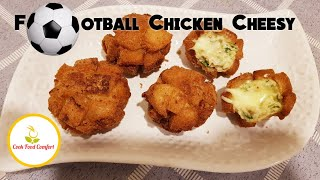 Football Chicken Cheesy Recipe Video By Cook Food Comfort