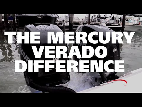 The Mercury Verado Outboard Boat Engine Difference - YouTube