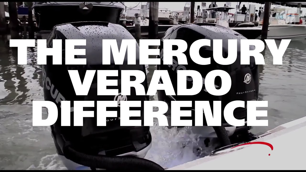 The Mercury Verado Outboard Boat Engine Difference