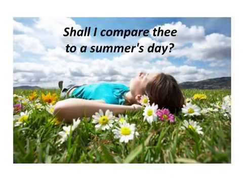 Sonnet 18 by Shakespeare + Music by David Gilmour