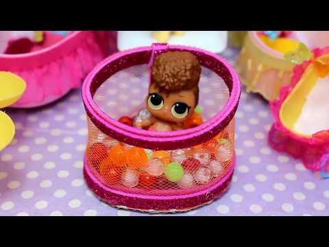 Для кукол ЛОЛ  своими руками. Как сделать мебель для кукол.