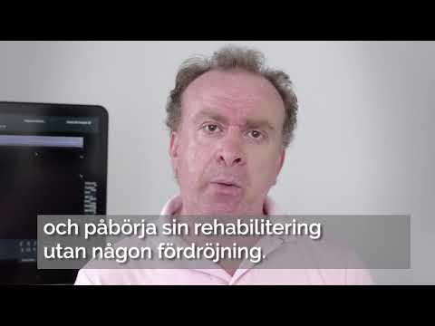 Georges Abdi om fördelarna att ha klinik och rehab vägg i vägg - SV text