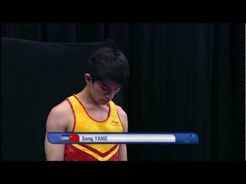 Song Yang (CHN) - 2011 World Tumbling - Final Run 2