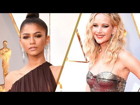 Top 10 BEST Dressed Celebs & Red Carpet Fashions at the 2018 Oscars